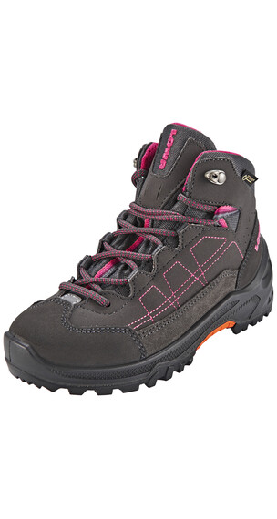 Lowa Approach GTX Mid Boots Juniors anthrazit/beere